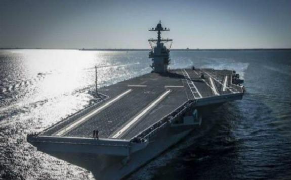 美国军工技术全球领先,垄断大型核动力航母超半个世纪