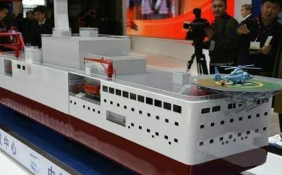 中国最强辅助船曝光,将全部采用核动力