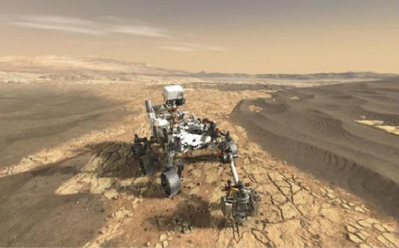 """防止核电池泄露 NASA更新""""火星2020""""任务的环境评估"""