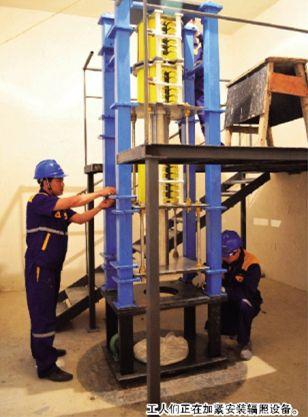 中广核集团与辽宁泰兴生物科技公司合力打造 电子直线加速器辐照消毒杀菌项目进入设备安装阶段