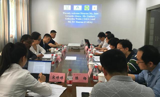 国际原子能机构官员调研西华大学核技术应用项目