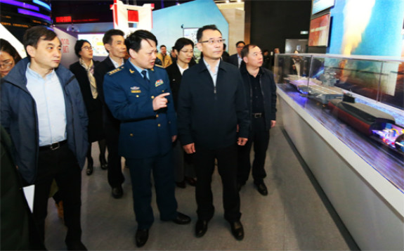 军事博物馆核武器与核技术和平利用厅即将对外开馆