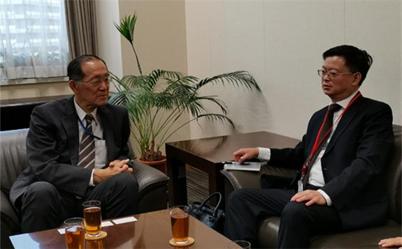 张建华副主任访问日本原子能委员会并出席第二十届亚洲核合作论坛部长级会议