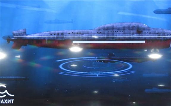 俄罗斯正在设计第五代核潜艇