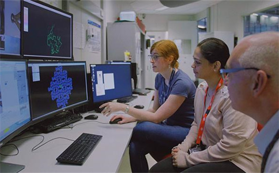 科学家使用澳大利亚同步加速器识别冠状病毒蛋白结构