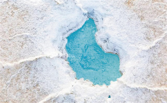 柴达木盆地富锂盐湖锂来源的锂同位素示踪研究获进展