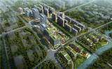 李晓明一行在中核科创园、中核集团上海总部建设项目调研