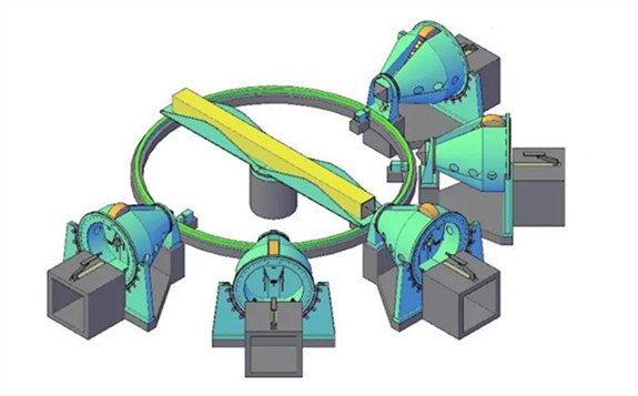 一种医用多辐射头质子直线加速器(专利)