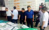 甘肃武山县赴江浙地区考察学习蔬菜电子辐照技术