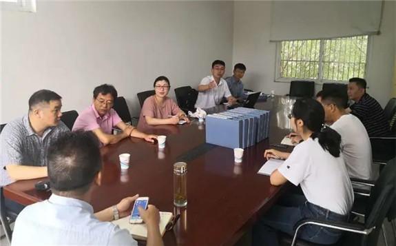 华东核与辐射安全监督站对六安市辐照装置开展辐射安全检查