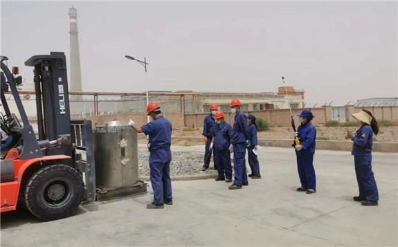 中核高通圆满完成废旧钴-60放射源送贮专项工作