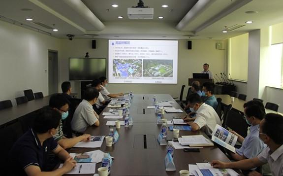 北京工业大学校长柳贡慧一行访问高能所