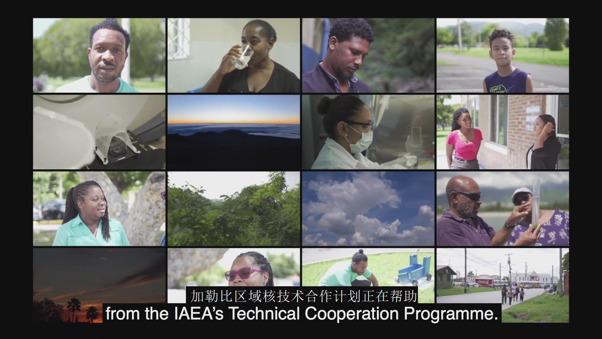国际原子能机构对加勒比地区的支持