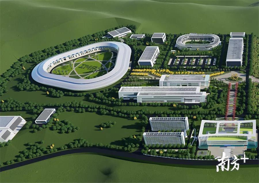 惠州强流重离子加速器装置总部区预计明年中建成
