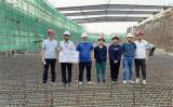 高能同步辐射光源项目超长大体积底板混凝土首段底板完成施工