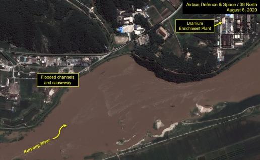 美国爆料称朝鲜核反应堆受到洪灾威胁