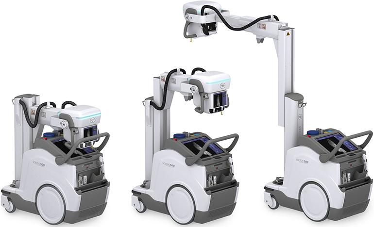 佳能医疗发布新款紧凑型移动数字X射线