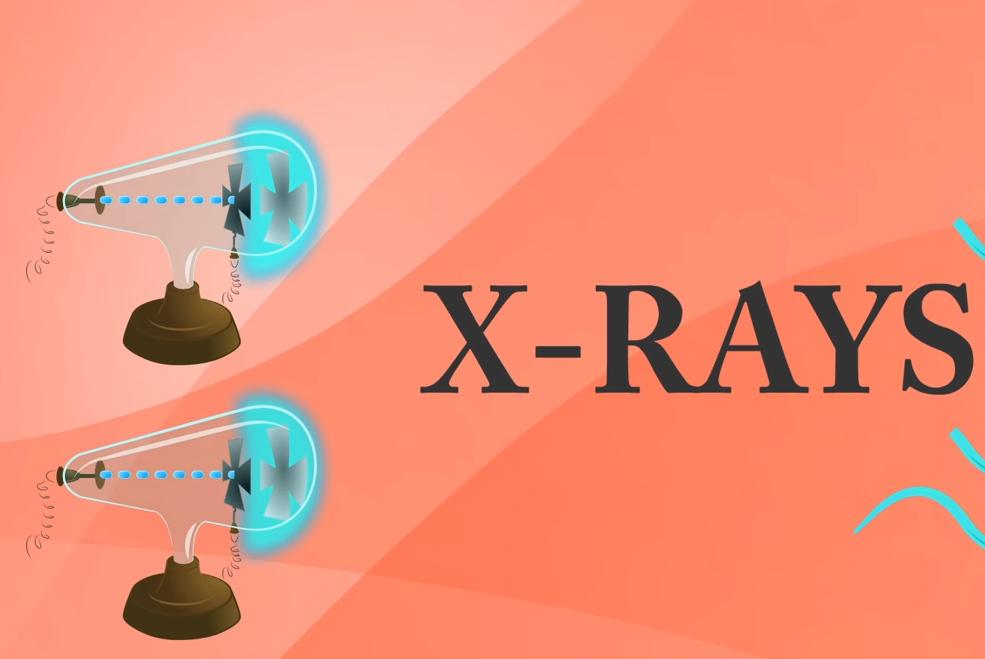 X 射线如何透视体表?