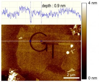 """电子束原子级3-D""""雕刻""""可以启用新的量子纳米器件"""