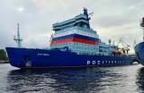 """俄罗斯""""北极""""号核动力破冰船完成第二阶段海试"""