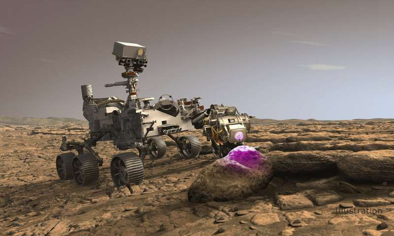 美国宇航局的新火星探测器将使用X射线搜寻化石