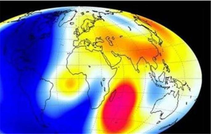 地球磁场出现凹痕 或将无法抵挡太空辐射!