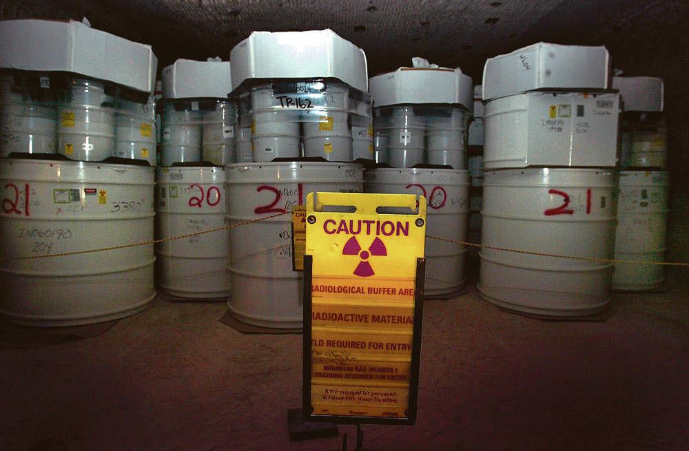 报告称LANL存储的放射性废物有可能引起爆炸