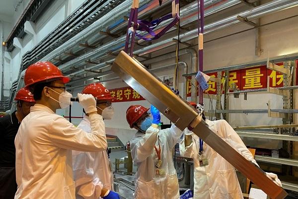 中国散裂中子源(CSNS)首次完成运行靶体更换