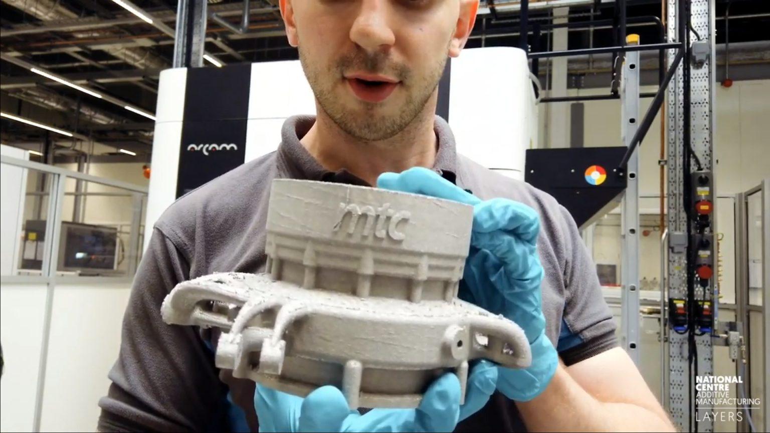 英国国家增材制造中心使用电子束熔化制作高应力汽车零件