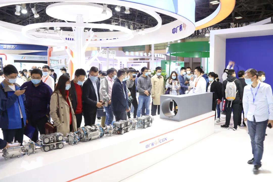 中广核携华龙一号、核技术应用、核电机器人等创新成果亮相核工展