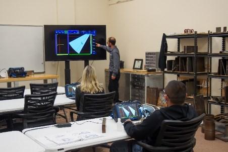 奥林巴斯和Hellier NDT扩大合作以培训未来的NDT检查员