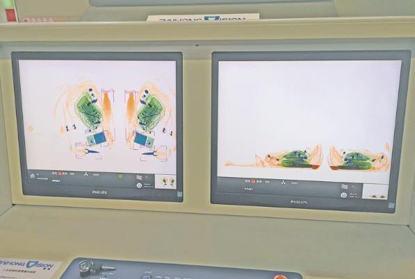 华东首条!无锡地铁3号线启用AI智能双视角X射线安检仪