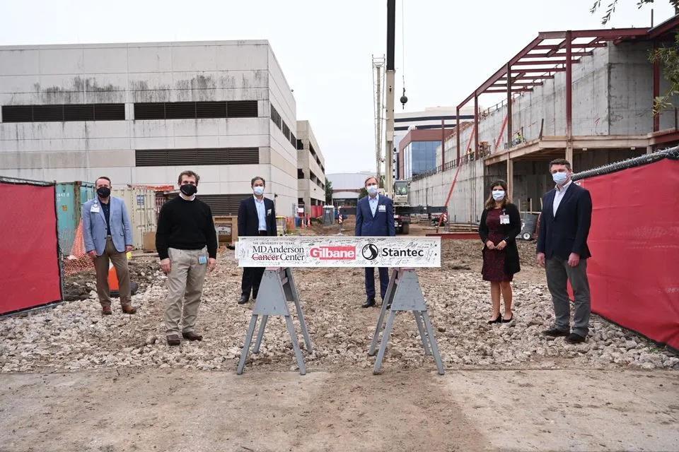MD安德森质子治疗中心II期建筑封顶 将如期于2023年开业