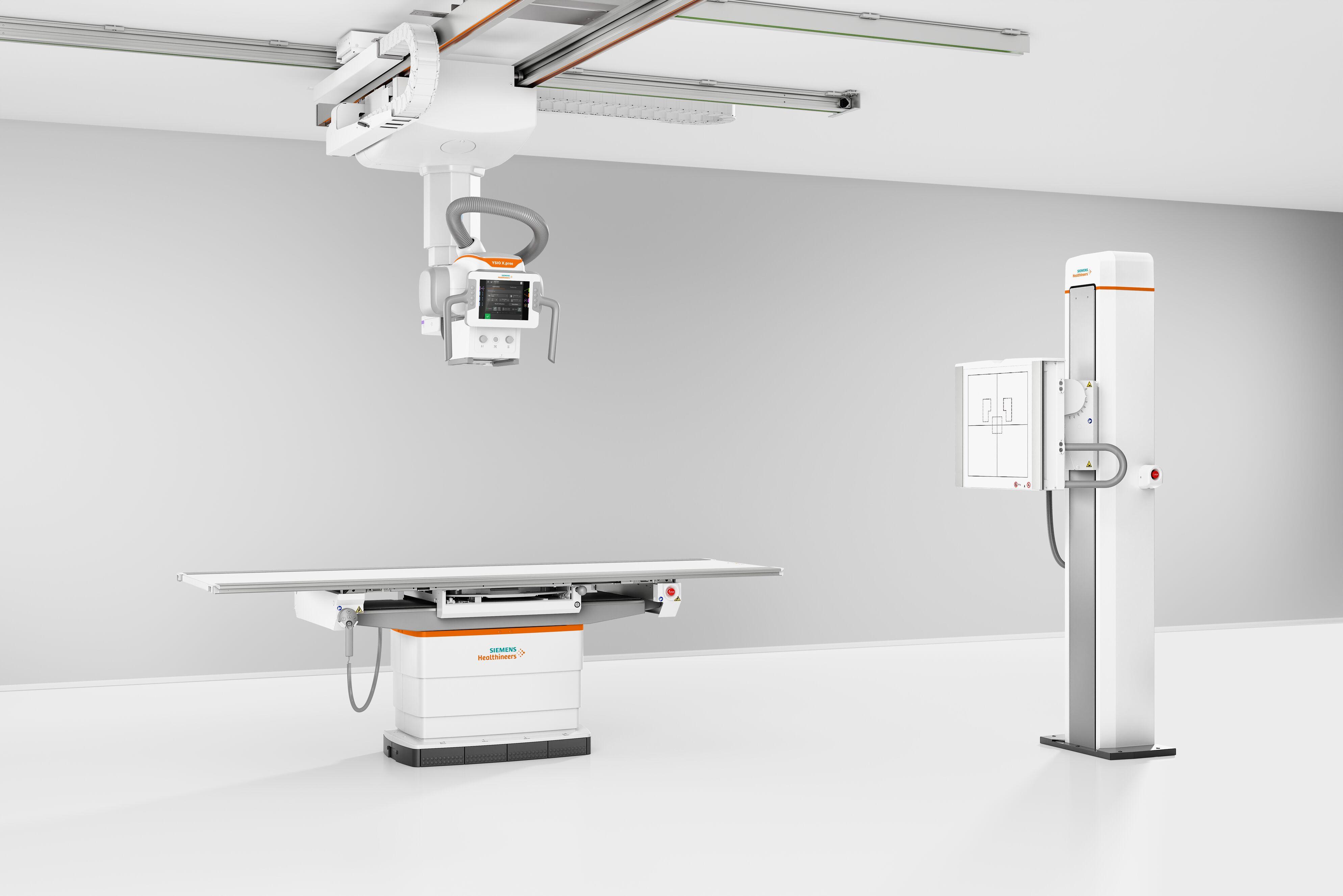 FDA批准西门子医疗的YSIO X.pree智能天花板放射成像系统