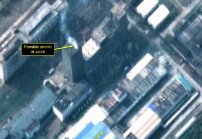 卫星图像显示朝鲜宁边核科学研究中心又有新动作