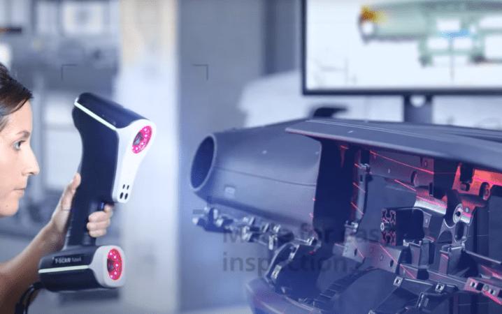 蔡司公司推出T-Scan新型三重扫描模式手持扫描仪