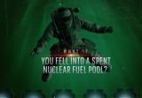 如果你不慎跌入核废料水池会怎么样?