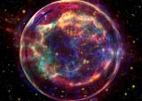 法国粒子加速器的实验探测了超新星的性质