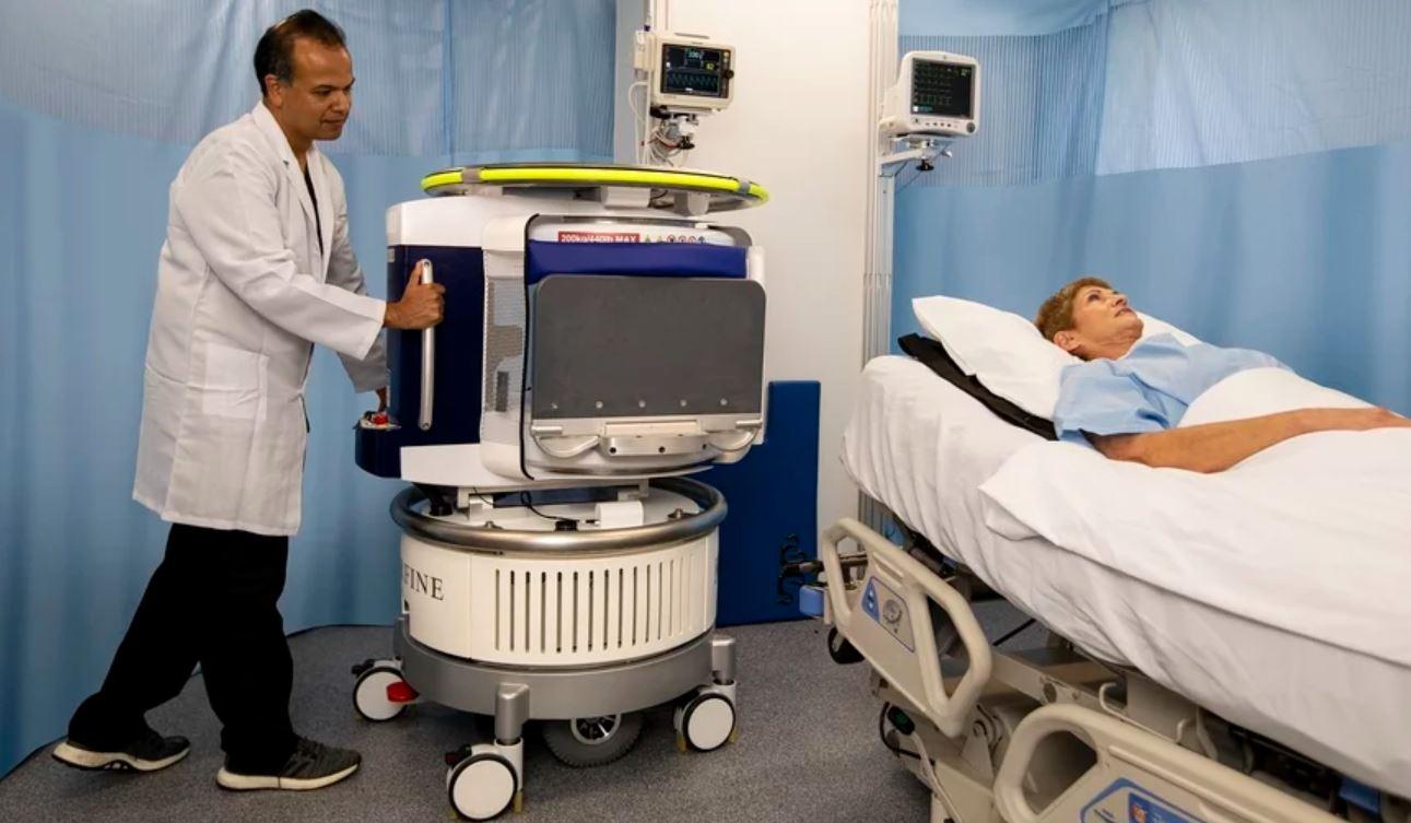 世界上第一台便携式MR扫描仪如何使成像自主化