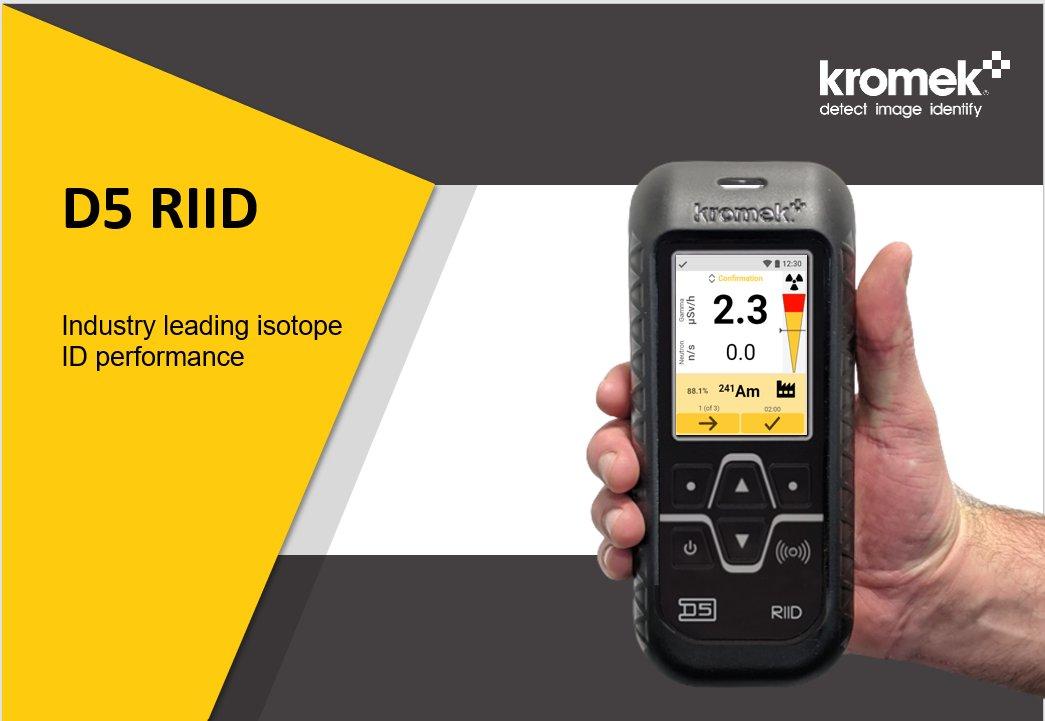 RMD的CLLBC技术成功集成到Kromek屡获殊荣的RIID中