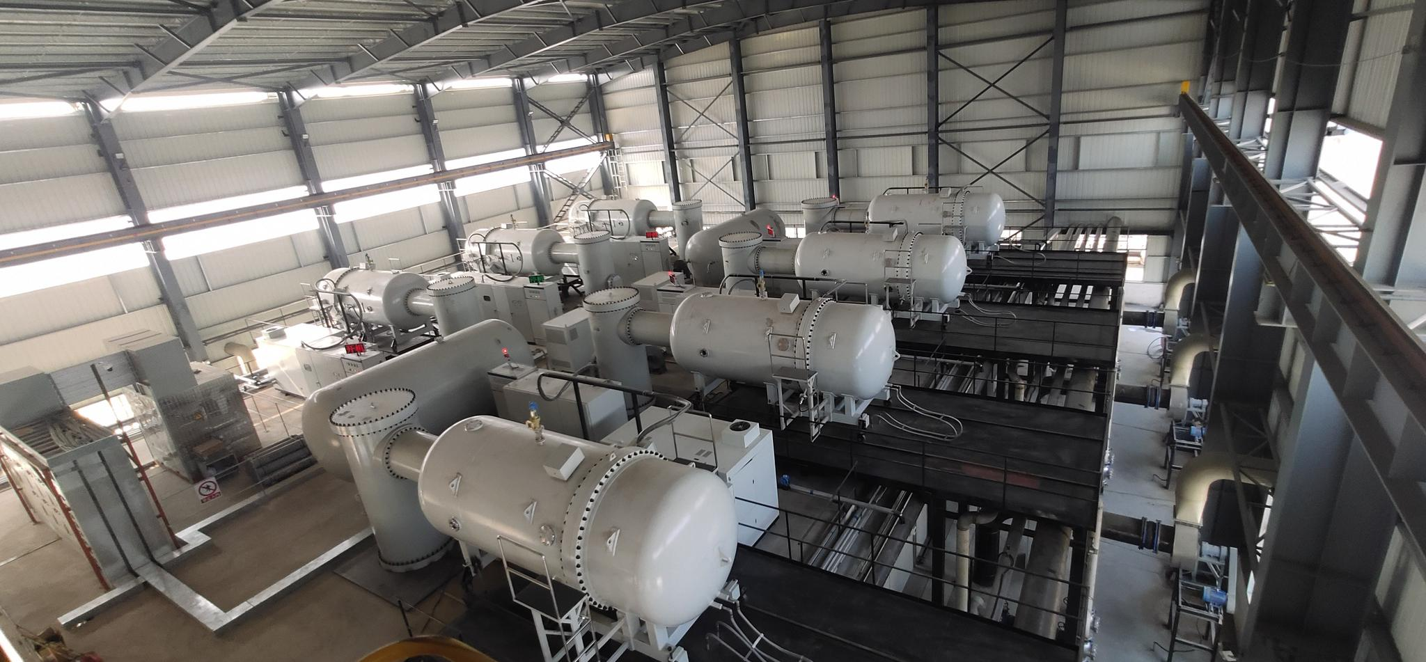 走进中广核技电子加速器研发制造基地 电子束治污优势显著