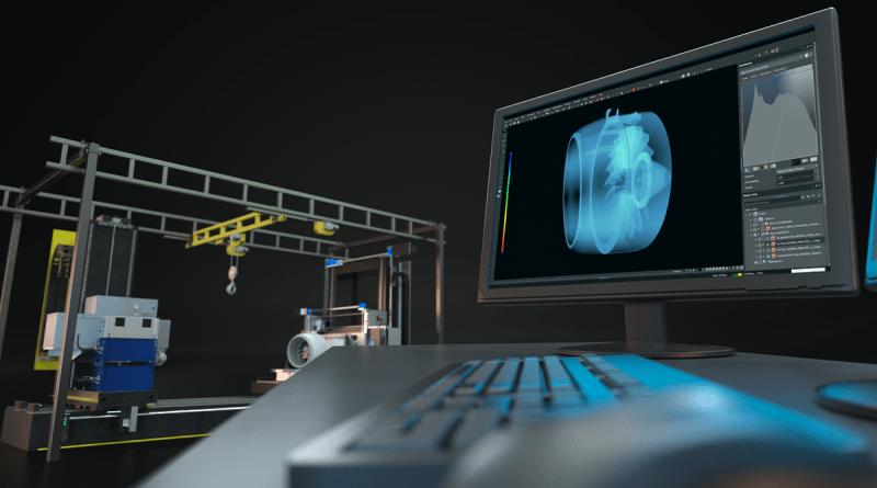 业界最快的大型部件高能CT扫描仪