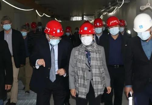 山东省肿瘤医院质子临床研究中心医疗综合楼计划12月31日完工交付使用