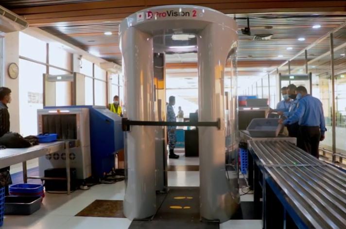 孟加拉国沙贾拉尔机场安装四台全身X射线扫描仪