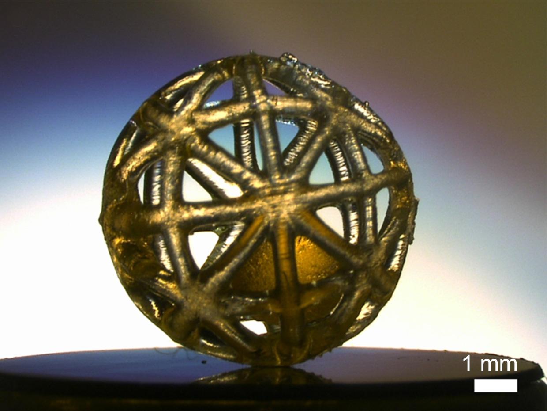 """使用"""" X射线照相术"""" 3D打印空心结构"""