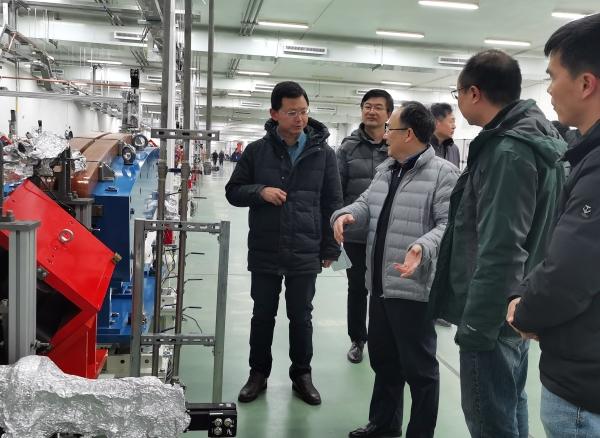 华东监督站完成上海光源许可证重新申领项目现场检查