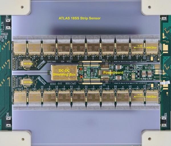 ATLAS硅径迹探测器升级模块样机预制完成