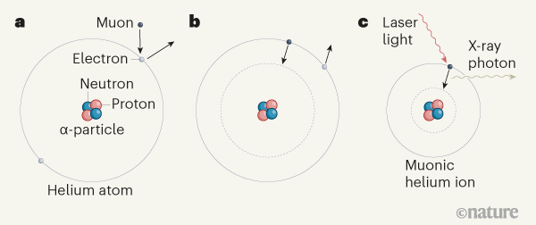 以创纪录的精度测量氦原子核
