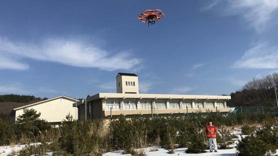 福岛县:用于紧急情况下辐射监测的新型无人机技术