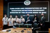 美国政府向菲律宾海关局提供辐射探测设备